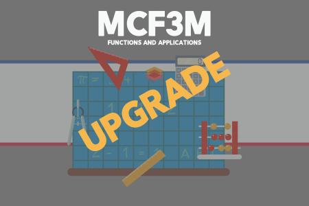 Upgrade MCF3M