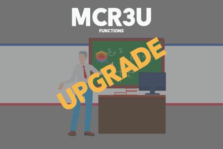 Upgrade MCR3U