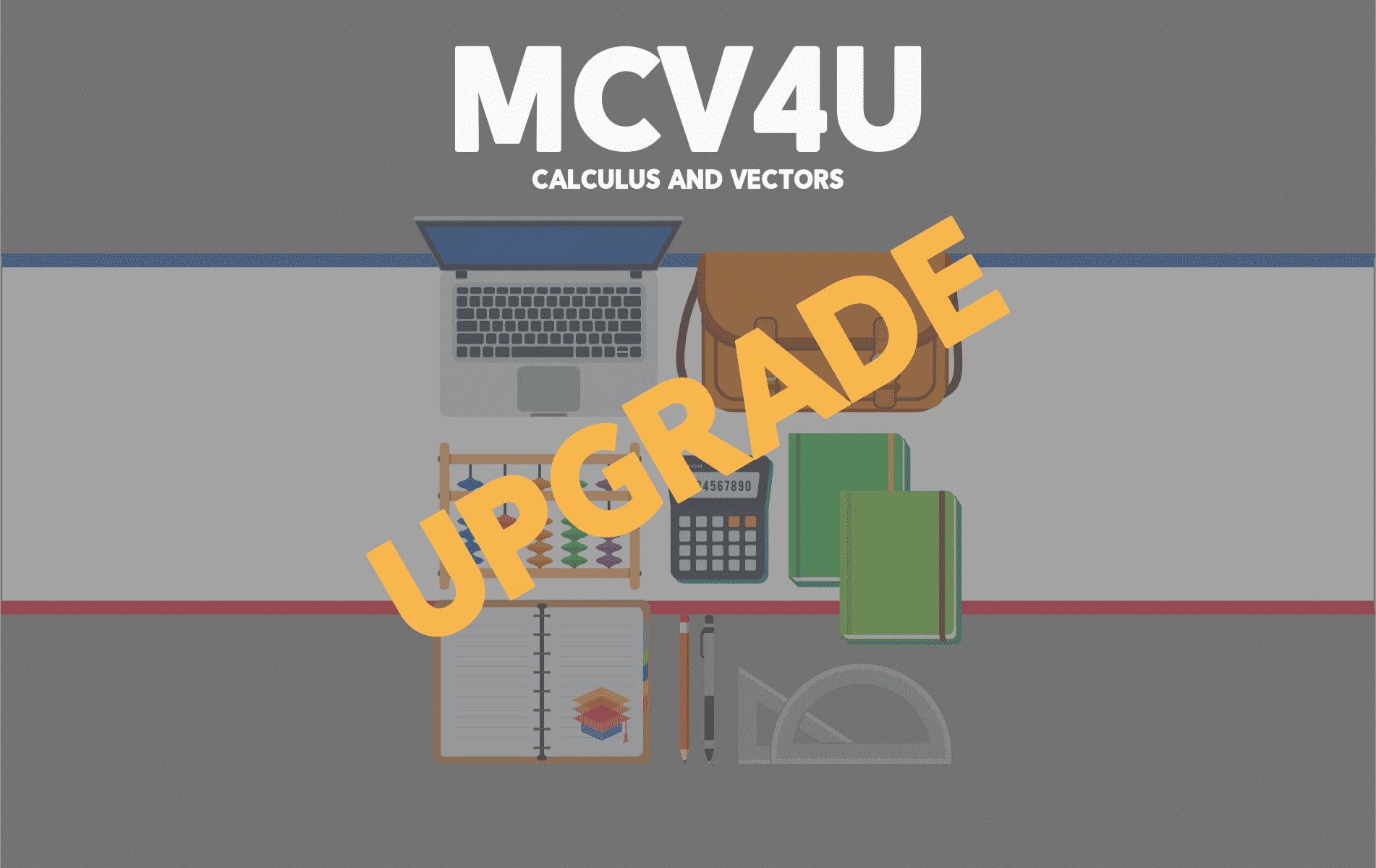 Upgrade MCV4U